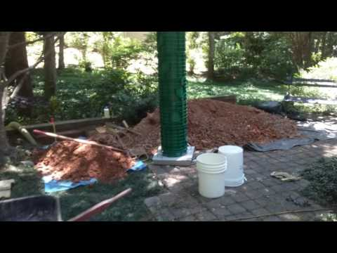 Installing a septic tank riser
