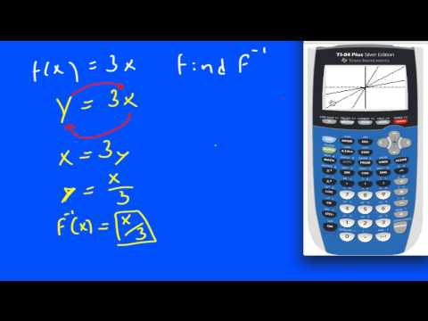 Find the Inverse of a Function