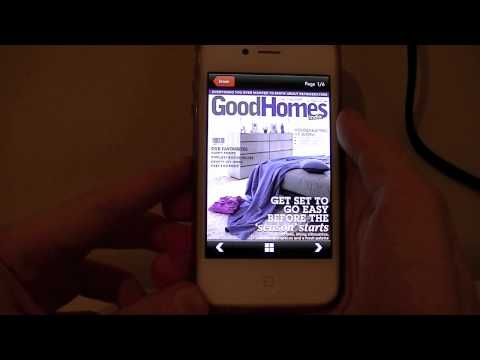 iPhone App Review Magzter - Magazine store