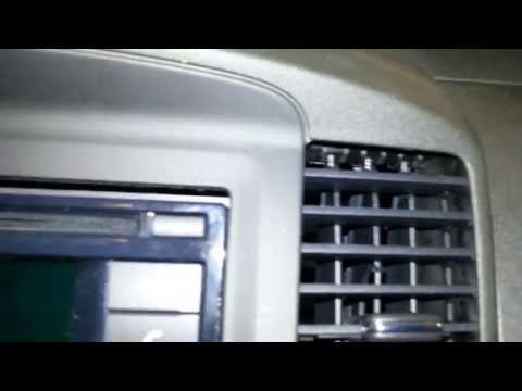 2012 Navara D40 ST Dash Removal