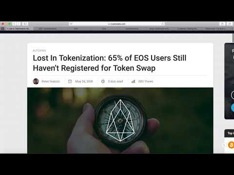 EOX Airdrop | EOS Token Swap |  Chaince Airdrop |  Metronome $MTN ICO
