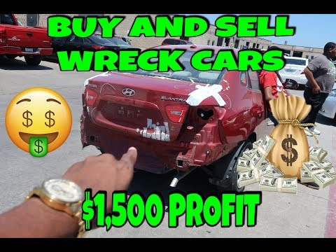 HOW TO FLIP YOUR FIRST CAR $1500 PROFIT