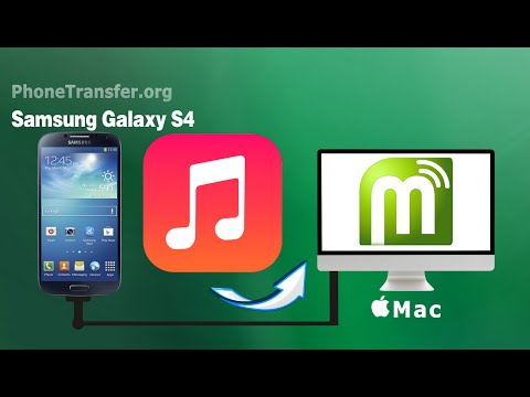 [Galaxy S4 Music to Mac]: How to Transfer Music from Samsung Galaxy S4 (Zoom/Mini) to Mac?