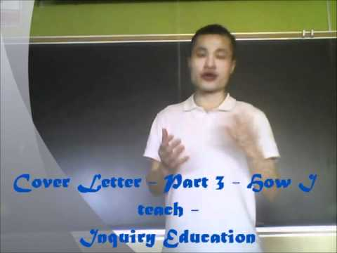 cover letter introduction for an English teaching position