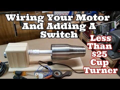 Wiring Your $25 Tumbler Turner Motor