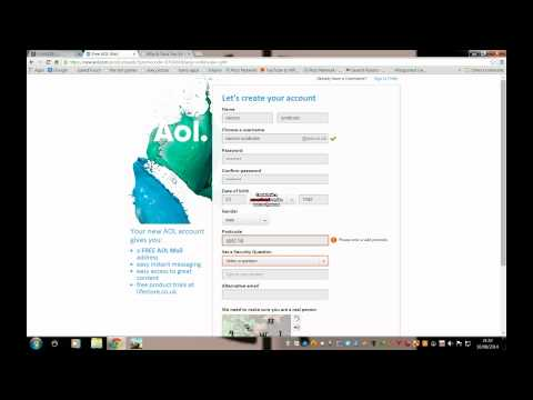 How to make an aol email account (Remake)