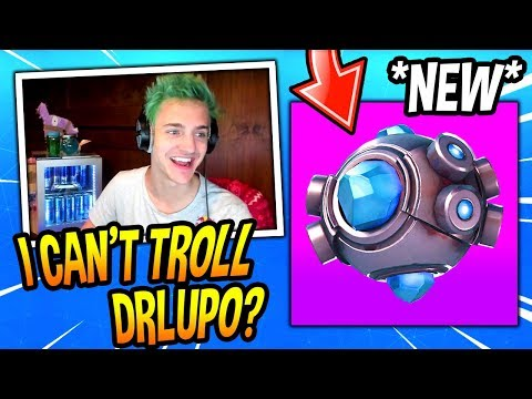 NINJA REACTS TO *NEW* SHOCKWAVE GRENADE! *NO FALL DAMAGE* Fortnite FUNNY & SAVAGE Moments