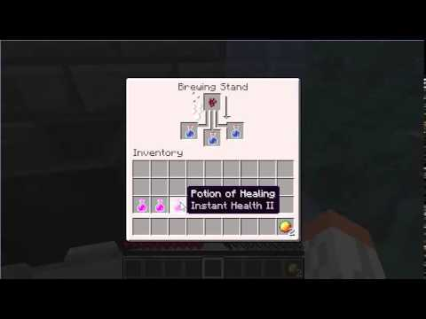 How To Minecraft 1.8.7+ Make Fire Resistance Potions