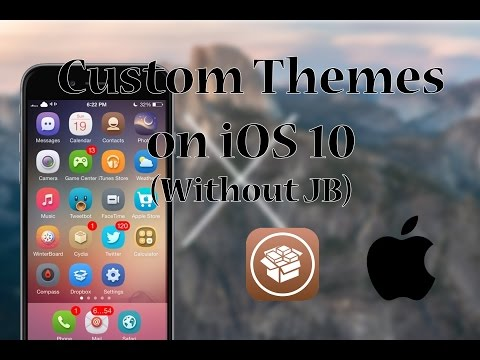Install Custom Themes on iOS 10 - iPhone/iPad/iPod - Without Jailbreak