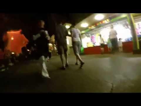 GoPro POV - 3 Year Old Runs Away Through Lagoon Amusement Park