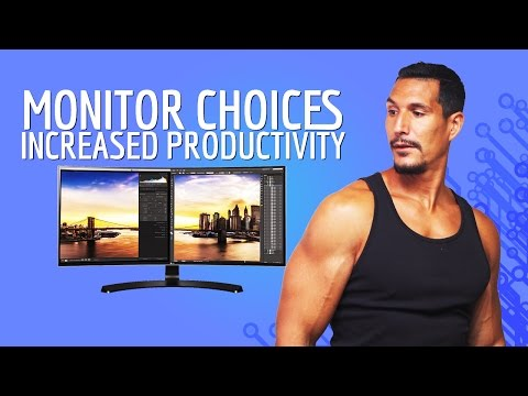 Monitor Choices For Increased Productivity
