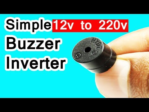 How to make low cost inverter at home easily without any ic 12v to 220v