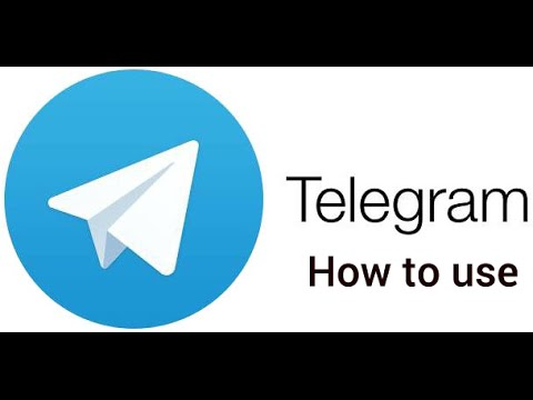 Telegram messenger  how to use