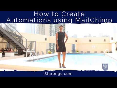 How to Create an Automated Email Series using MailChimp Automation Workflow