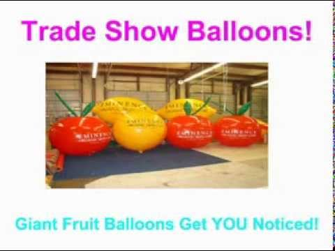 Fruit Balloons for Events Parties Marketing
