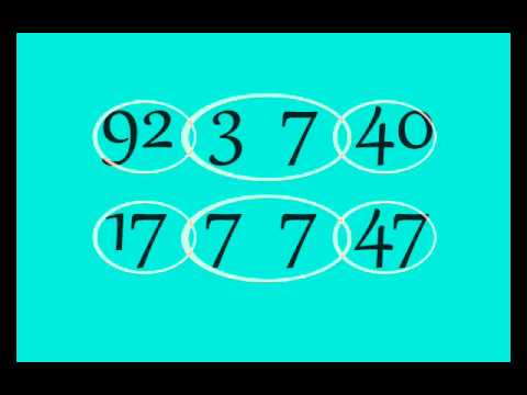 Advanced mnemonics for remembering numbers
