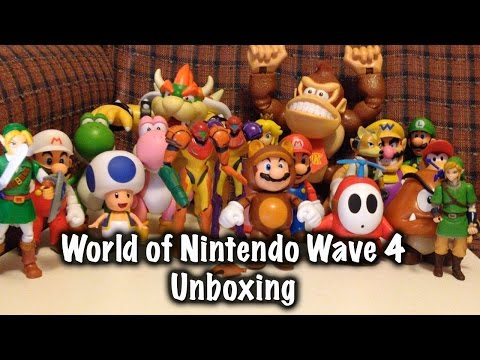 Unboxing Wave 4 World of Nintendo Action Figure