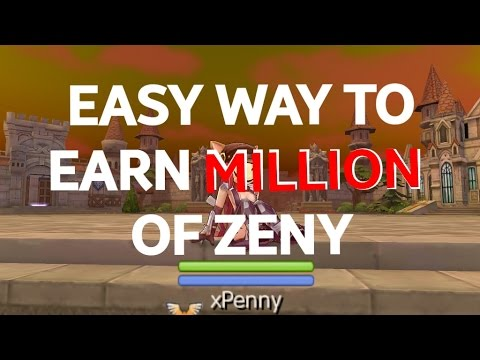 EARN MILLION OF ZENY FAST! RAGNAROK MOBILE GUIDE