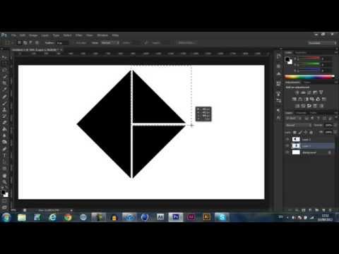 Learn How to make a Custom Shape Logo Adobe Photoshop CS6   CS5