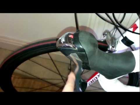 Shimano Tiagra 4500 brake lever reach adjustment.mp4