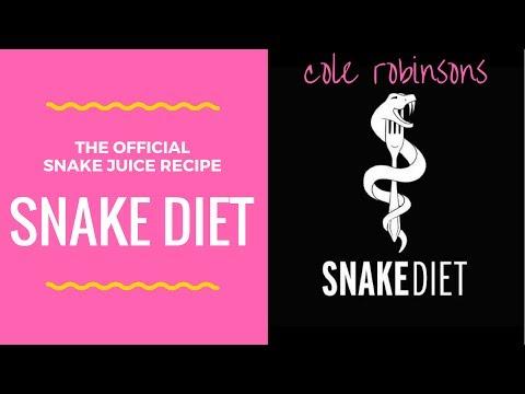 Snake Juice Recipe - Cole Robinson's Snake Diet!!!