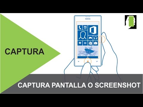 NOKIA LUMIA   Captura De Pantalla  O Screenshot FACIL HD