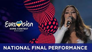 Claudia Faniello - Breathlessly (malta) Eurovision 2017 - National Final Performance