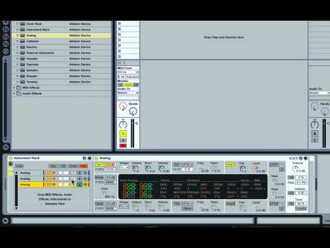 SEM : ABLETON LIVE TUTORIAL : Creating a huge lead sound