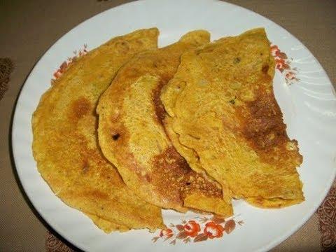 Besan Cheela Recipe - Easy Breakfast Dosa Recipes
