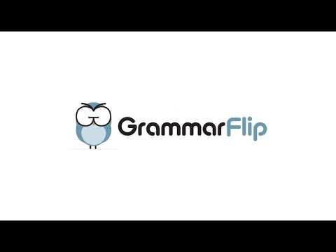 Boring or Memorable? GrammarFlip Logo Animation