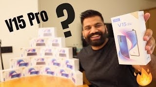 Vivo V15 Pro 8GB Edition Unboxing & Giveaway - Vivo V15 Family 🔥🔥🔥