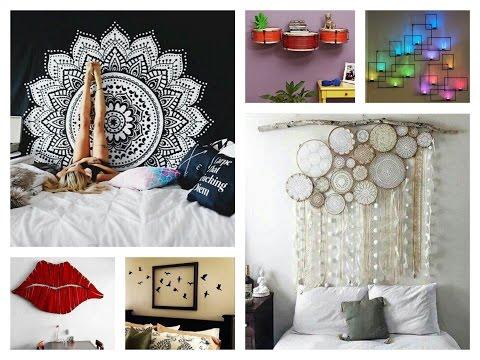 Creative Wall Decor Ideas - DIY Room Decorations