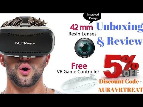 Hindi | Aura VR Pro Unboxing & Review Virtual Reality Glasses | Sharmaji Technical