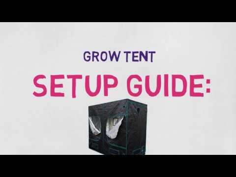 Mars-Hydro Grow Tent Setup