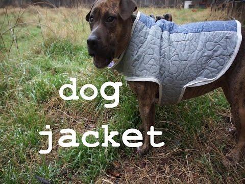 DIY Dog Jacket Coat Thing