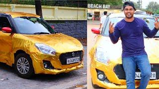 My New Gold Car 🔥🔥 🔥 Golden Swift