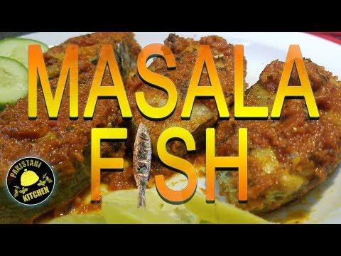 How to make MASALA FISH - Recipe | Pakistani Kitchen