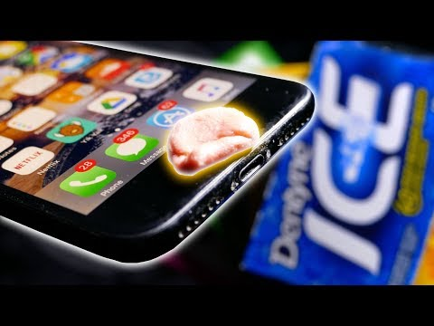 How To HACK TOUCH ID With CHEWING GUM!?!? - Awesome Spy Trick!