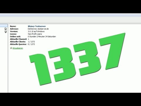 TUTORIAL: TS-Server mit 1337 Slots! AWESOME!
