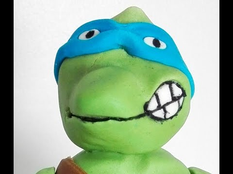 How to make a Mutant Ninja Turtle Cake Topper