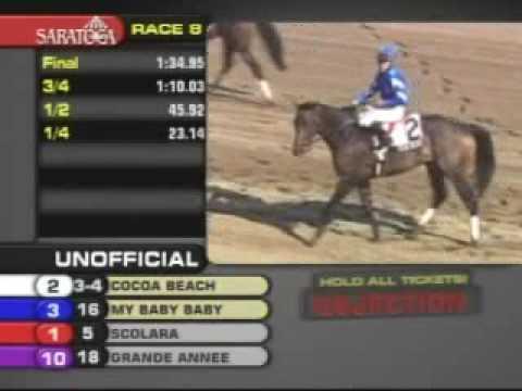COCOA BEACH - De La Rose Stakes [1600 mts.]