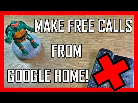 NEW FEATURE: How To Make Free Phone Calls Using Your Google Home Mini! Free UK & US Calling!
