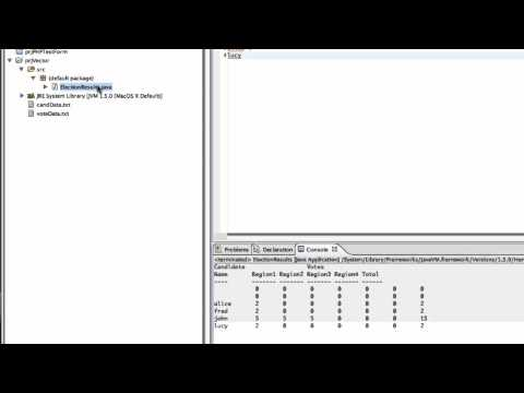 Using External Data Files with Eclipse (debugging Project:Vector)