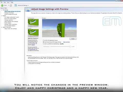 NVIDIA Maximum Graphic Card Settings