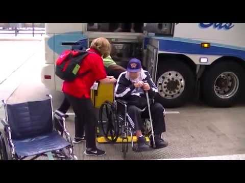 Honor Flight Chicago Wheel Chair Training