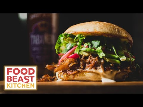 How To Make A DUCK CONFIT TORTA | Foodbeast Kitchen