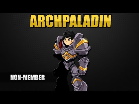 How to get ArchPaladin Class AQW FREE