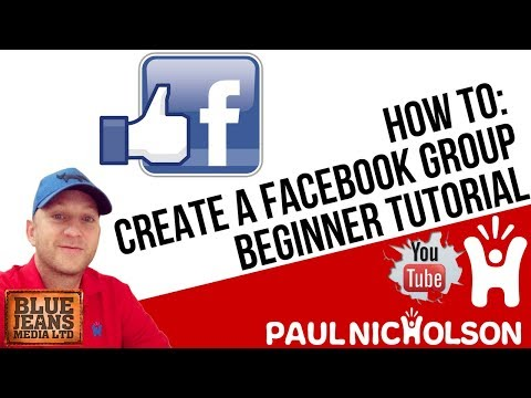 How To Create A Facebook Closed Group - Beginner Setup Tutorial 2017