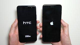 iPhone 8 Plus vs HTC U11 Speed Test!