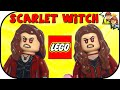 LEGO Scarlet Witch Marvel Minifigure Comparison Collection